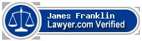 James B. Franklin  Lawyer Badge