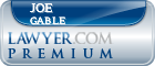 Joe Lanier Gable  Lawyer Badge