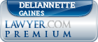 Deliannette Gaines  Lawyer Badge