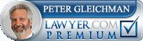 Peter Alan Gleichman  Lawyer Badge