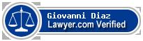 Giovanni Jose Diaz  Lawyer Badge