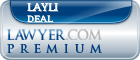 Layli Eskandari Deal  Lawyer Badge