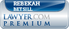 Rebekah Susanne Betsill  Lawyer Badge