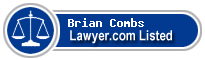 Brian Combs Lawyer Badge