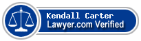 Kendall William Carter  Lawyer Badge