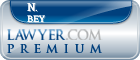 N. John Bey  Lawyer Badge