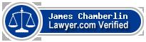 James A. Chamberlin  Lawyer Badge