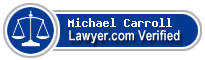 Michael Eugene Carroll  Lawyer Badge