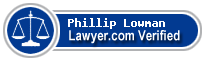 Phillip Andrew Lowman  Lawyer Badge