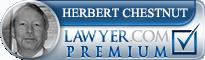 Herbert Joseph Chestnut  Lawyer Badge