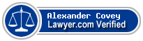 Alexander Cyclone Covey  Lawyer Badge