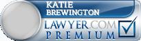 Katie Brewington  Lawyer Badge
