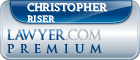 Christopher Michael Riser  Lawyer Badge
