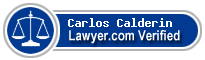 Carlos Alberto Calderin  Lawyer Badge