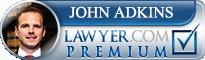 John W. Adkins  Lawyer Badge
