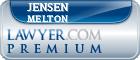 Jensen Meribah Melton  Lawyer Badge