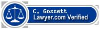 C. Darrell Gossett  Lawyer Badge