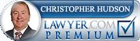 Christopher James Hudson  Lawyer Badge