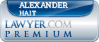 Alexander Gray Hait  Lawyer Badge