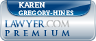 Karen Gregory-Hines  Lawyer Badge