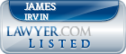 James Irvin Lawyer Badge