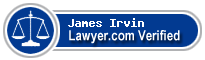 James T. Irvin  Lawyer Badge