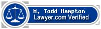 M. Todd Hampton  Lawyer Badge