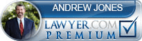Andrew Woodruff Jones  Lawyer Badge
