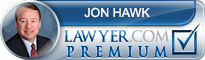Jon-Selby Reynolds Hawk  Lawyer Badge