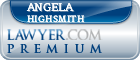 Angela Janene Highsmith  Lawyer Badge