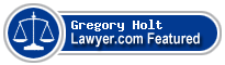 Gregory Wayne Holt  Lawyer Badge