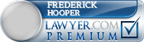 Frederick Lambert Hooper  Lawyer Badge
