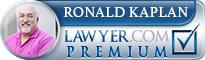 Ronald I. Kaplan  Lawyer Badge