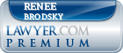 Renee Kart Brodsky  Lawyer Badge
