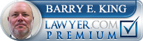 Barry E. King  Lawyer Badge