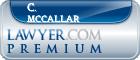 C. James Mccallar  Lawyer Badge