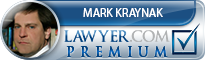Mark Edward Kraynak  Lawyer Badge
