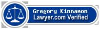 Gregory H. Kinnamon  Lawyer Badge