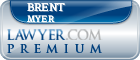 Brent M. Myer  Lawyer Badge