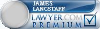 James Pope Langstaff  Lawyer Badge