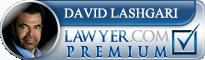 David T. Lashgari  Lawyer Badge