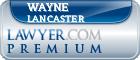 Wayne Lancaster  Lawyer Badge