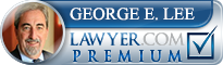 George E. Lee  Lawyer Badge