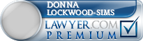 Donna Louise Lockwood-Sims  Lawyer Badge