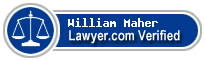 William F. Maher  Lawyer Badge