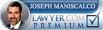Joseph A. Maniscalco  Lawyer Badge