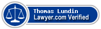 Thomas Charles Lundin  Lawyer Badge