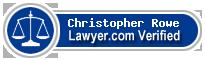 Christopher David Rowe  Lawyer Badge