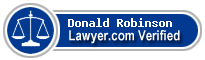 Donald T. Robinson  Lawyer Badge