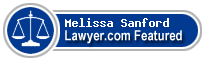 Melissa Sanford  Lawyer Badge